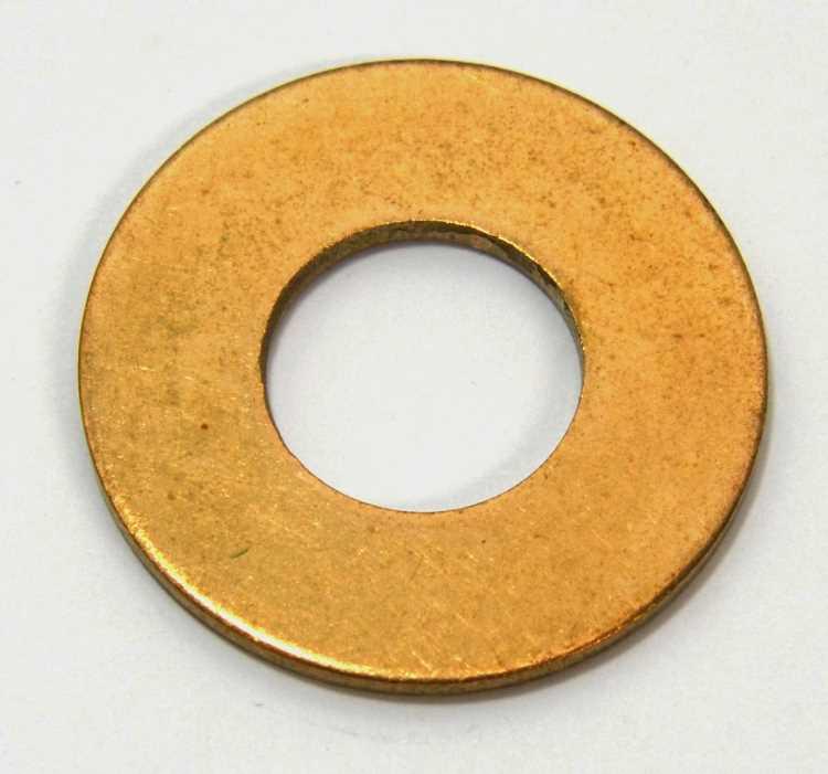 Flat Washer Silicone Bronze