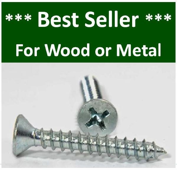 Flat Head Sheetmetal Screws
