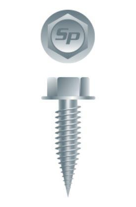 Hex Head Razor Point Screws